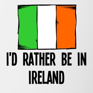 I'd Rather Be In Ireland - Contrast Coffee Mug