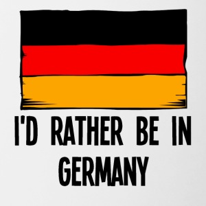 I'd Rather Be In Germany - Contrast Coffee Mug