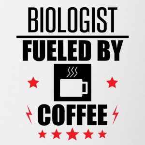 Biologist Fueled By Coffee - Contrast Coffee Mug