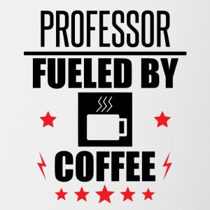 Professor Fueled By Coffee - Contrast Coffee Mug