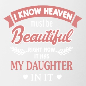 My Daughter Is In Heaven Shirts - Contrast Coffee Mug