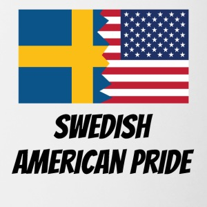 Swedish American Pride - Contrast Coffee Mug