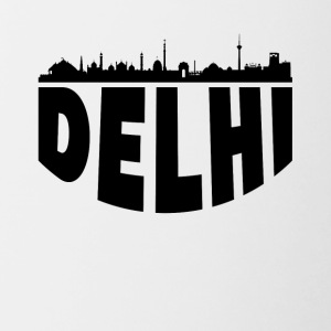 Delhi India Cityscape Skyline - Contrast Coffee Mug