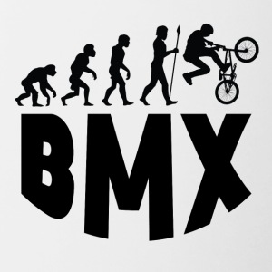 BMX Evolution - Contrast Coffee Mug