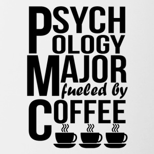 Psychology Major Fueled By Coffee - Contrast Coffee Mug