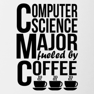 Computer Science Major Fueled By Coffee - Contrast Coffee Mug