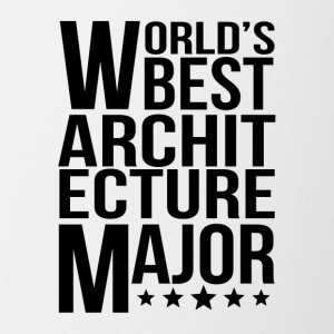 World's Best Architecture Major - Contrast Coffee Mug