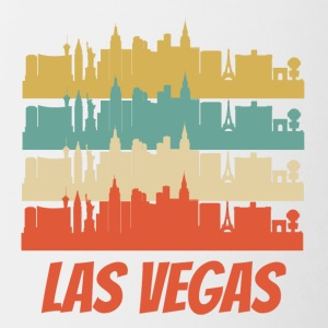 Retro Las Vegas NV Skyline Pop Art - Contrast Coffee Mug