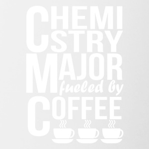 Chemistry Major Fueled By Coffee - Contrast Coffee Mug