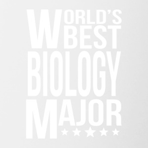 World's Best Biology Major - Contrast Coffee Mug