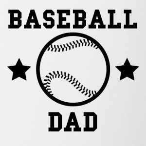 Baseball Dad - Contrast Coffee Mug