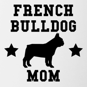 French Bulldog Mom - Contrast Coffee Mug