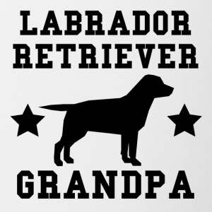 Labrador Retriever Grandpa - Contrast Coffee Mug