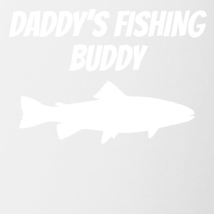 Daddy's Fishing Buddy - Contrast Coffee Mug