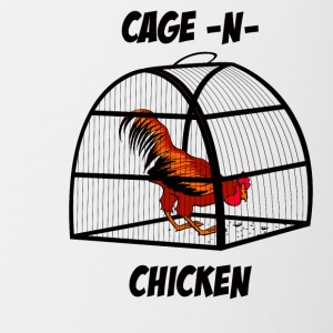 cage-n-chicken - Contrast Coffee Mug