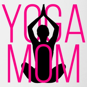 Yoga Mom - Contrast Coffee Mug