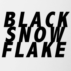 #blacksnowflake - Contrast Coffee Mug