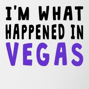 I'm What Happened In Vegas - Contrast Coffee Mug