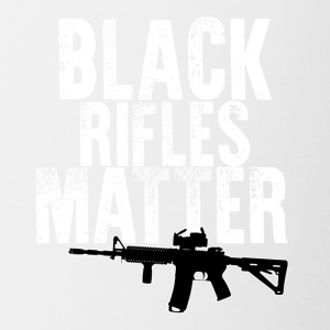 Black Rifles Matter - Contrast Coffee Mug
