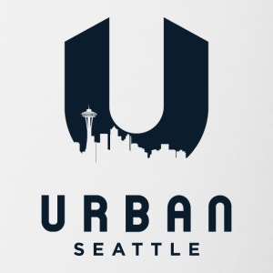 Urban Seattle - Contrast Coffee Mug