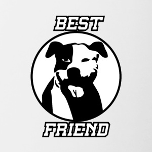 Best friend - Contrast Coffee Mug