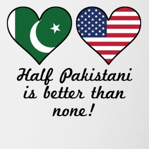 Half Pakistani Is Better Than None - Contrast Coffee Mug