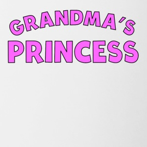 Grandma's Princess - Contrast Coffee Mug