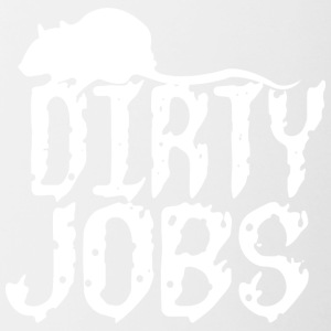 Dirty jobs - Contrast Coffee Mug