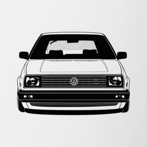 golf MK2 front - Contrast Coffee Mug