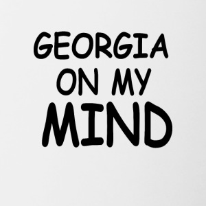 Georgia Is my Mind - Contrast Coffee Mug