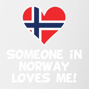 Someone In Norway Loves Me - Contrast Coffee Mug