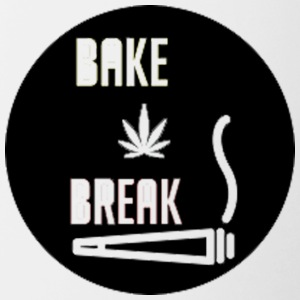 Bake Break Logo Cutout - Contrast Coffee Mug