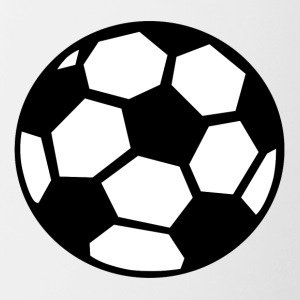 Soccer Ball - Contrast Coffee Mug