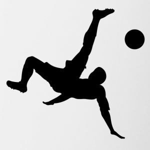 Bicycle Kick Soccer - Contrast Coffee Mug
