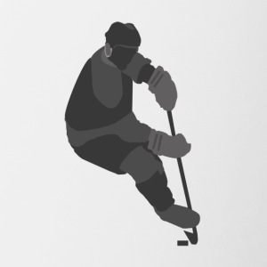 Ice Hockey Player - Contrast Coffee Mug