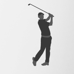 Golf Player - Contrast Coffee Mug