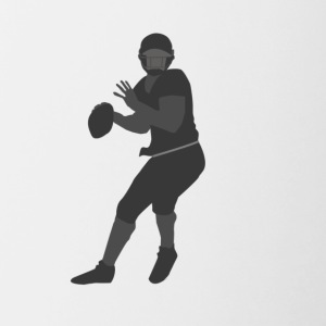 American Football Player - Contrast Coffee Mug