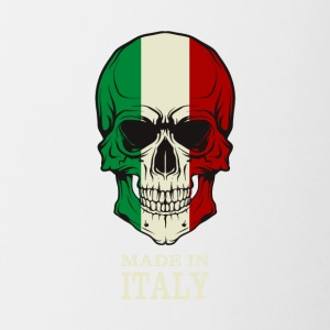 Made in Italy Skull Flag - Contrast Coffee Mug
