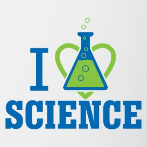 I LOVE SCIENCE - March For Science - Contrast Coffee Mug