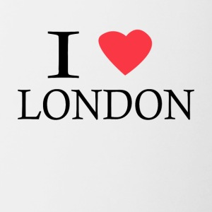 I Love London - Contrast Coffee Mug