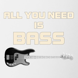 Need bass white color - Contrast Coffee Mug