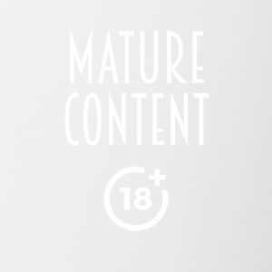 Mature content - Contrast Coffee Mug