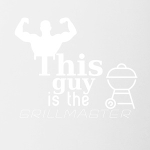 This guy is the Grillmaster - Contrast Coffee Mug