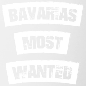 Bavarias most Wanted! Funny! - Contrast Coffee Mug