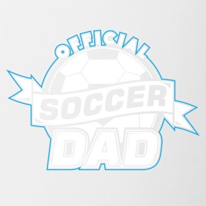 Soccer Dad! Daddy! Father! - Contrast Coffee Mug