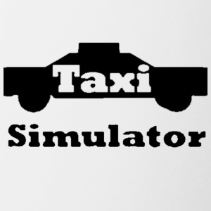 Taxi Simulator-In Real Life! - Contrast Coffee Mug