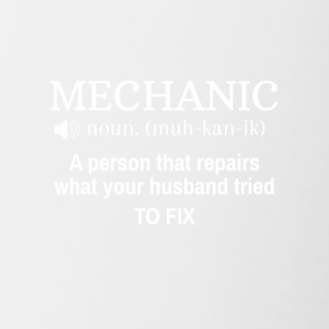 Mechanic - Contrast Coffee Mug