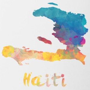 Haitian Watercolor Country - Contrast Coffee Mug