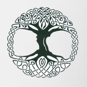 Tree of Life - Contrast Coffee Mug
