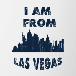 Las vegas I am from - Contrast Coffee Mug